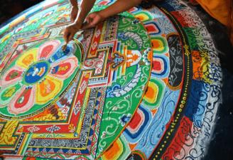 Mandala, Círculo Sagrado de la India