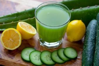 Bebida reduce el estómago al dormir Desintoxica Antioxidante