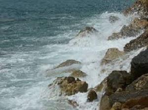 El agua de mar y el rocío