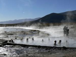 Aguas termales Y Termas de Copahue Patagonia De las mejores del mundo
