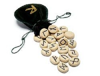 Runas oráculo alfabético