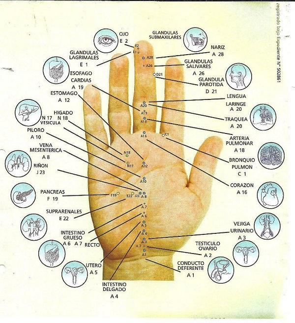 Presionando los dedos