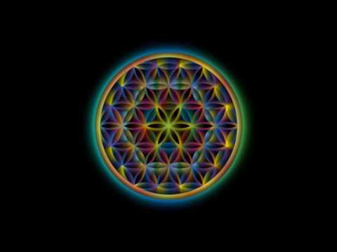 Powerful meditation flower of life