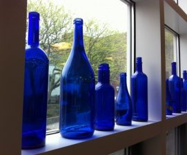 Agua solarizada azul con Ho´oponopono