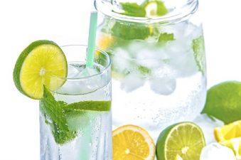 Agua veda saborizada