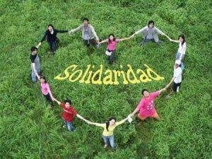Un muestrario de la Solidaridad Y de la Sociedad Actual