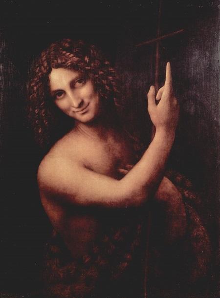 Juan el Bautista la película: Pintura de Da Vinci