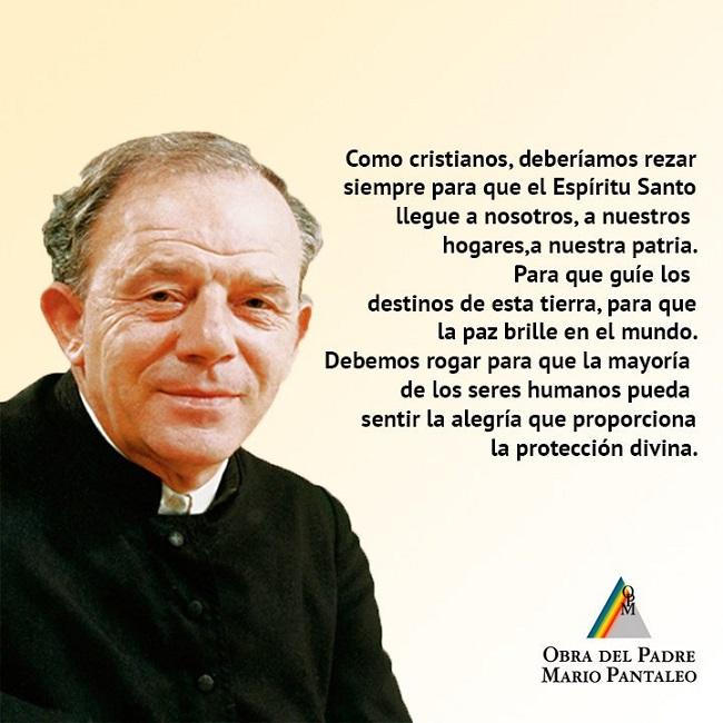 Oración del padre Mario Pantaleo