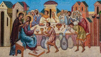 Jesús milagro en Caná Un río de vida Canción sanadora del milagro de Caná