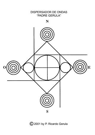 Radiaciones electromagnéticas: Dispersor de ondas Padre Gerula.